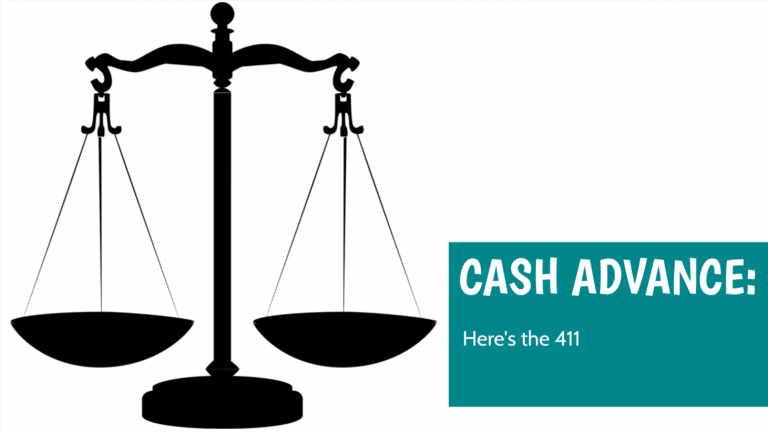cash advance 411
