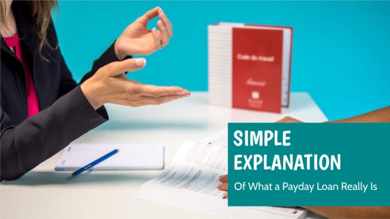 payday loan simple explanation