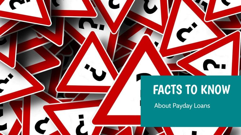 facts about payday loans